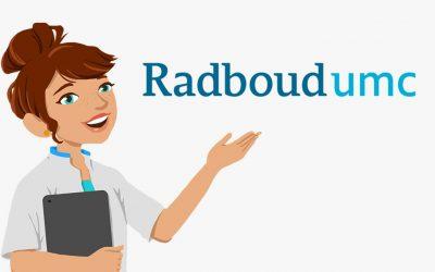 Persbericht: Zorgverleners Radboudumc beeldbellen via Zaurus