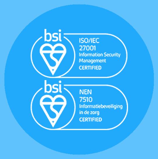 certificeringen Zaurus NEN7510 ISO27001