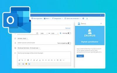 Update Zaurus Outlook add-in: inplannen in gedeelde agenda's