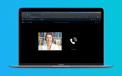 Nieuw: inbellen in videoconsulten via de digitale spreekkamer