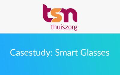TSN zet Zaurus Smart Glasses app in voor betere begeleiding op afstand