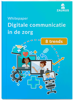 Whitepaper digitale communicatie in de zorg cover